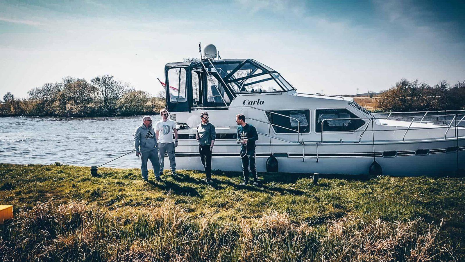 Drohnenfotografie in Holland, Bootsverleih Holland,