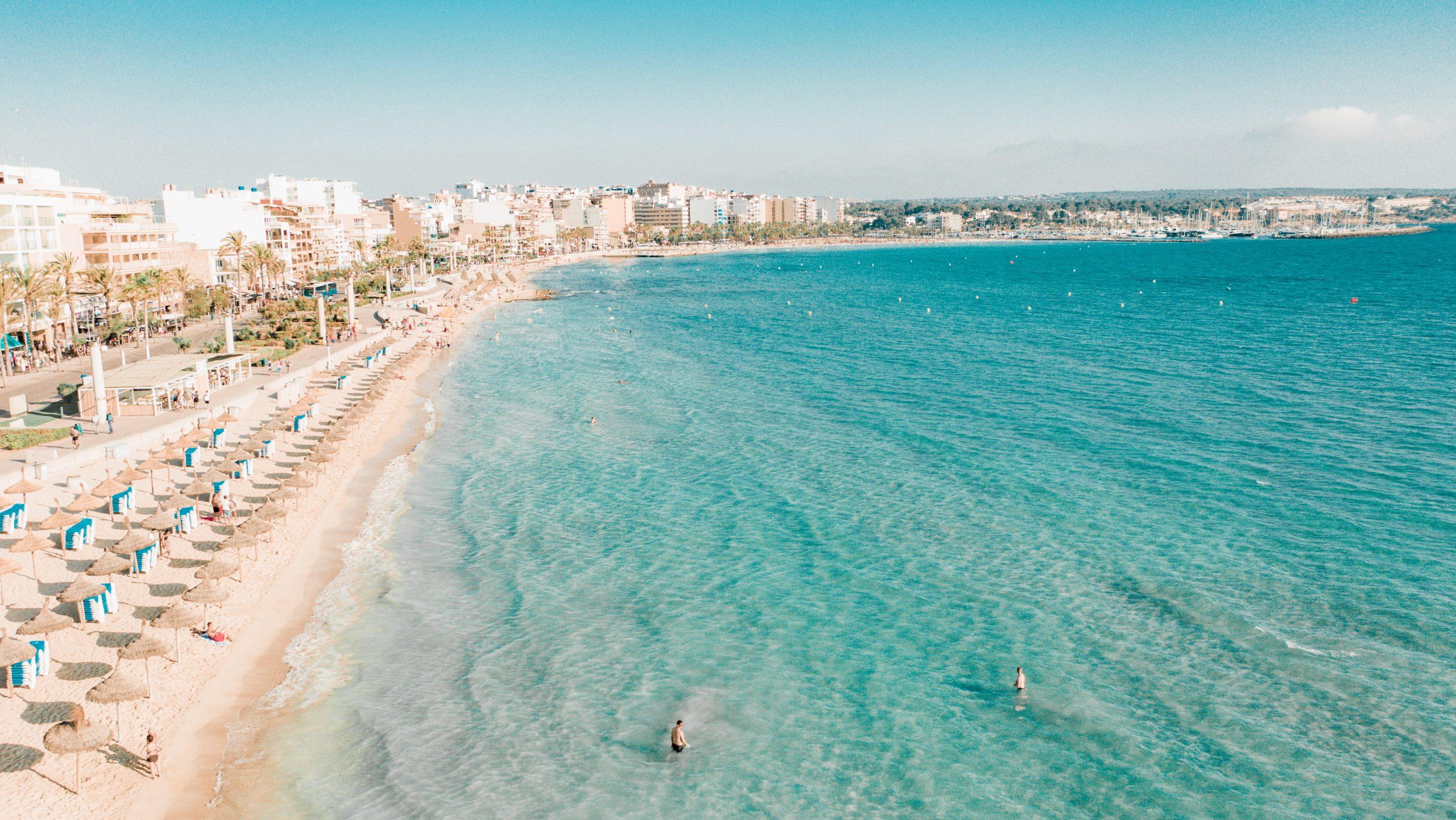 drohnenfotos, Mallorca von oben,