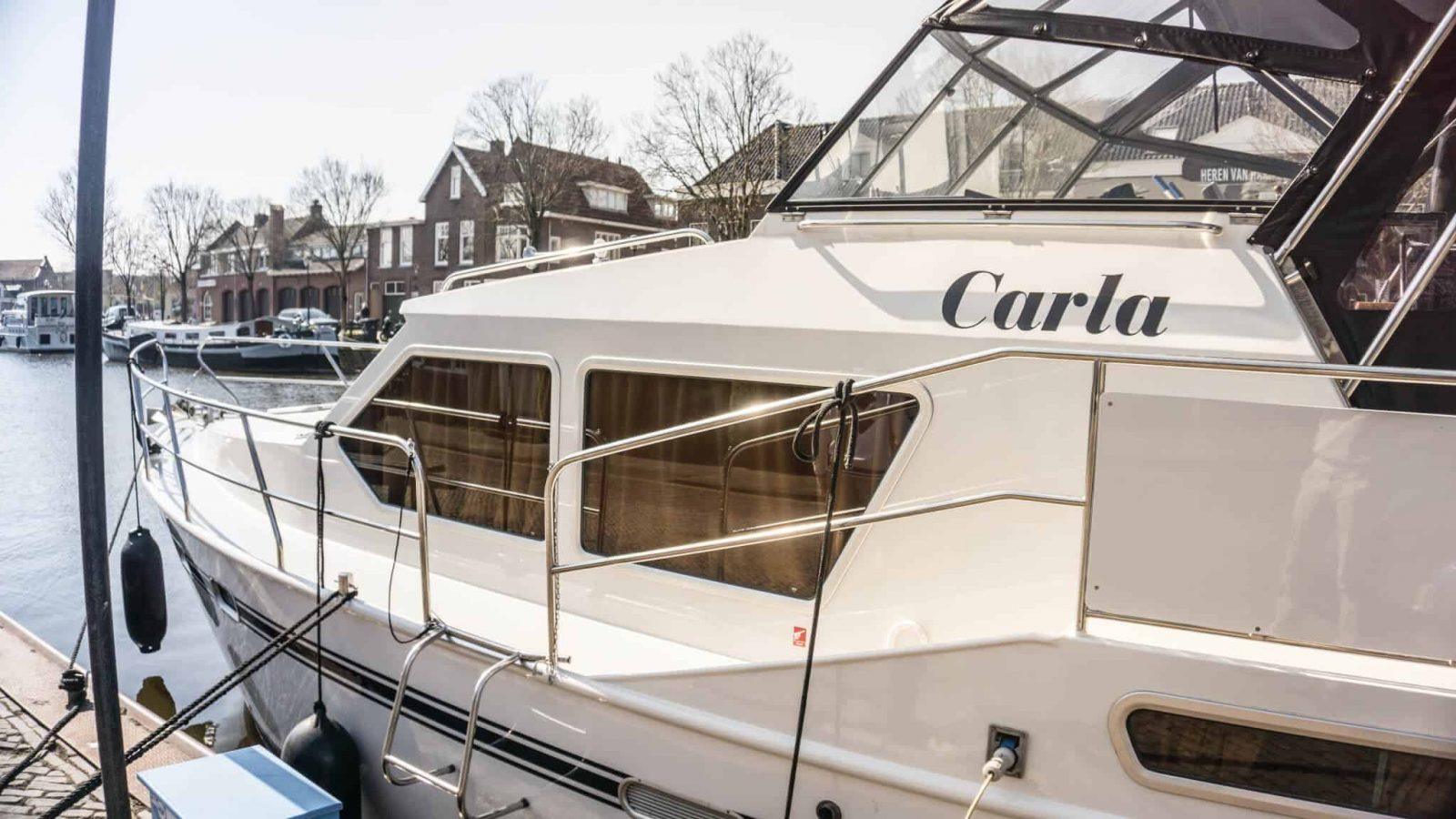 Bootsverleih holland, yacht Carla von Yachts4U,