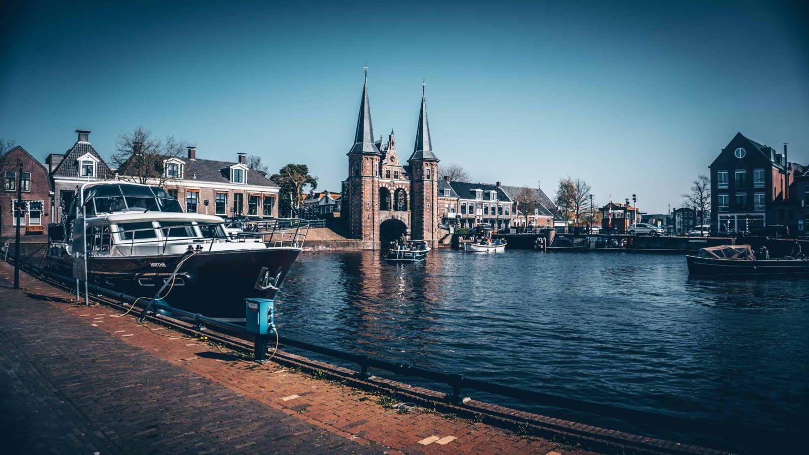 sneek in holland, Wahrzeichen in holland