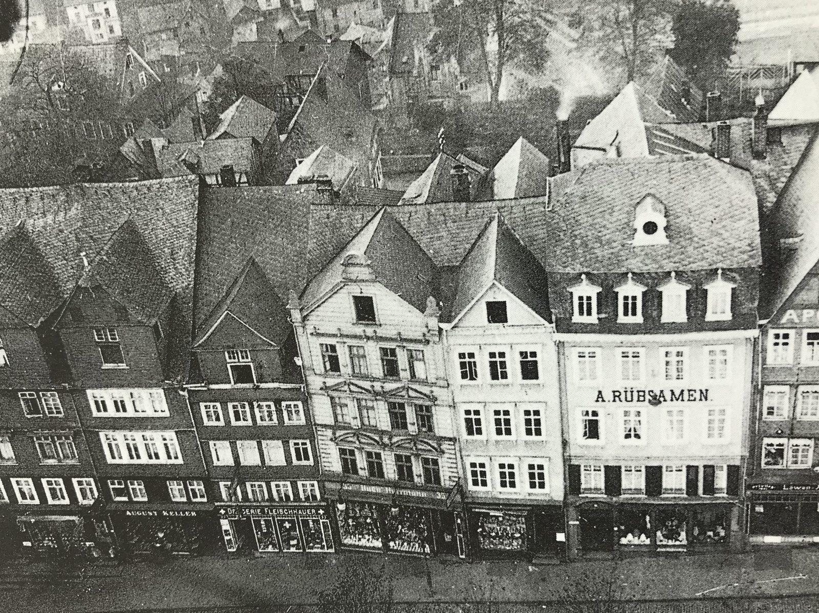 die Oberstadt in Siegen