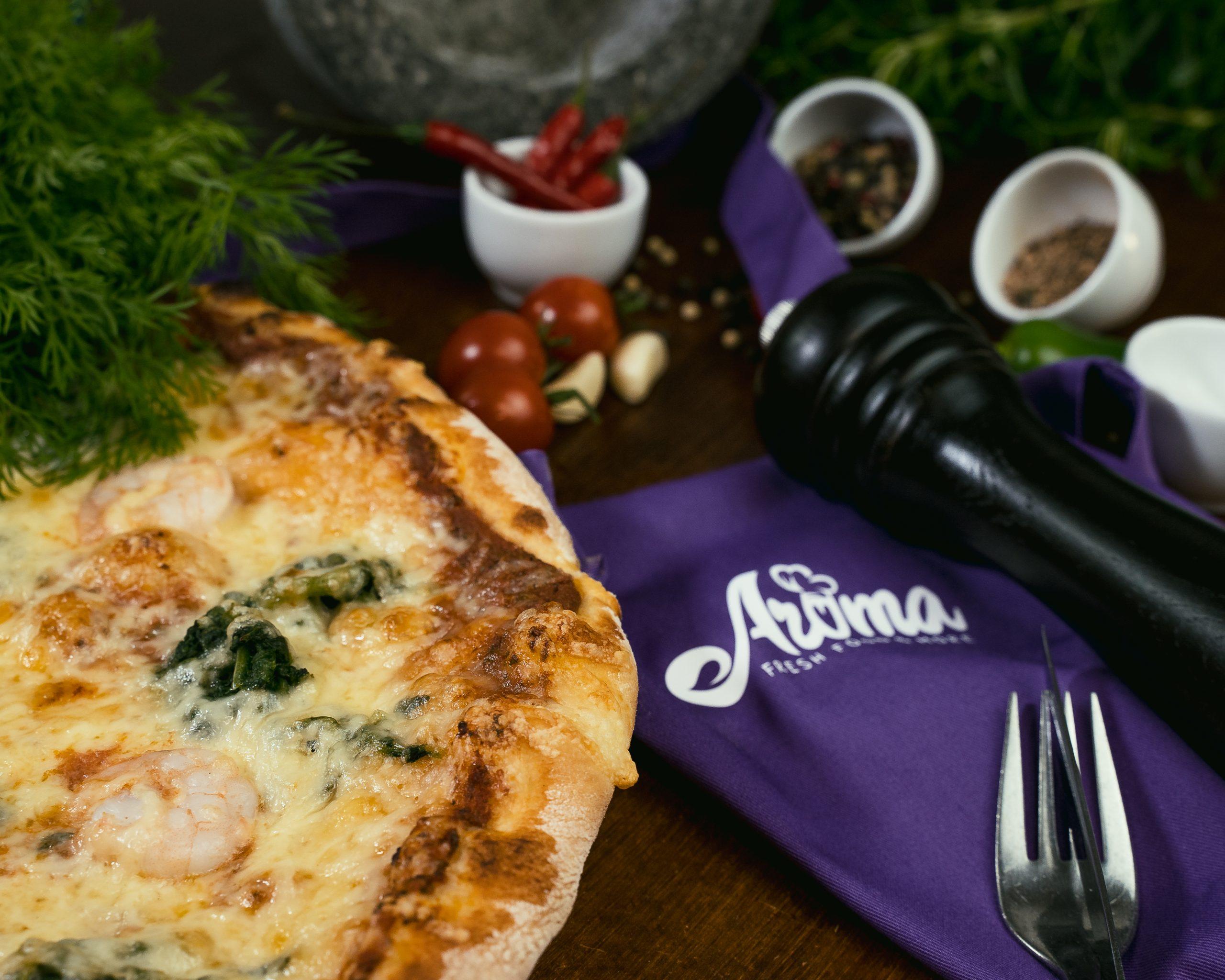 foodfotografie siegen, pizzeria aroma, pizzafoto