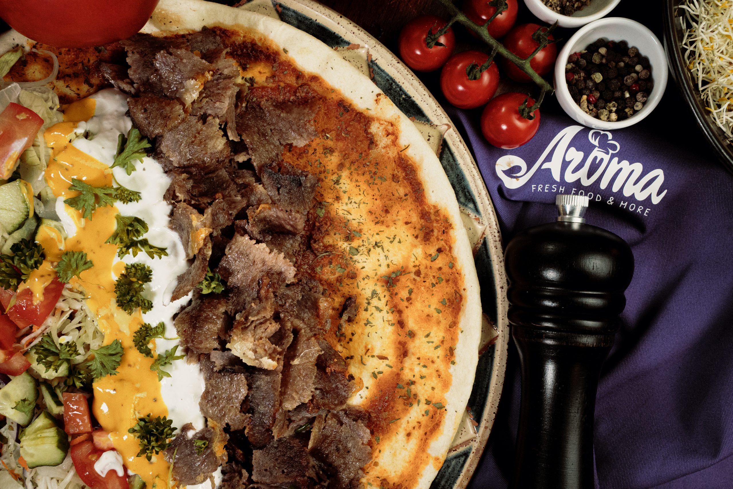 Pizzeria Aroma, Lahmacun, dreamcode.de
