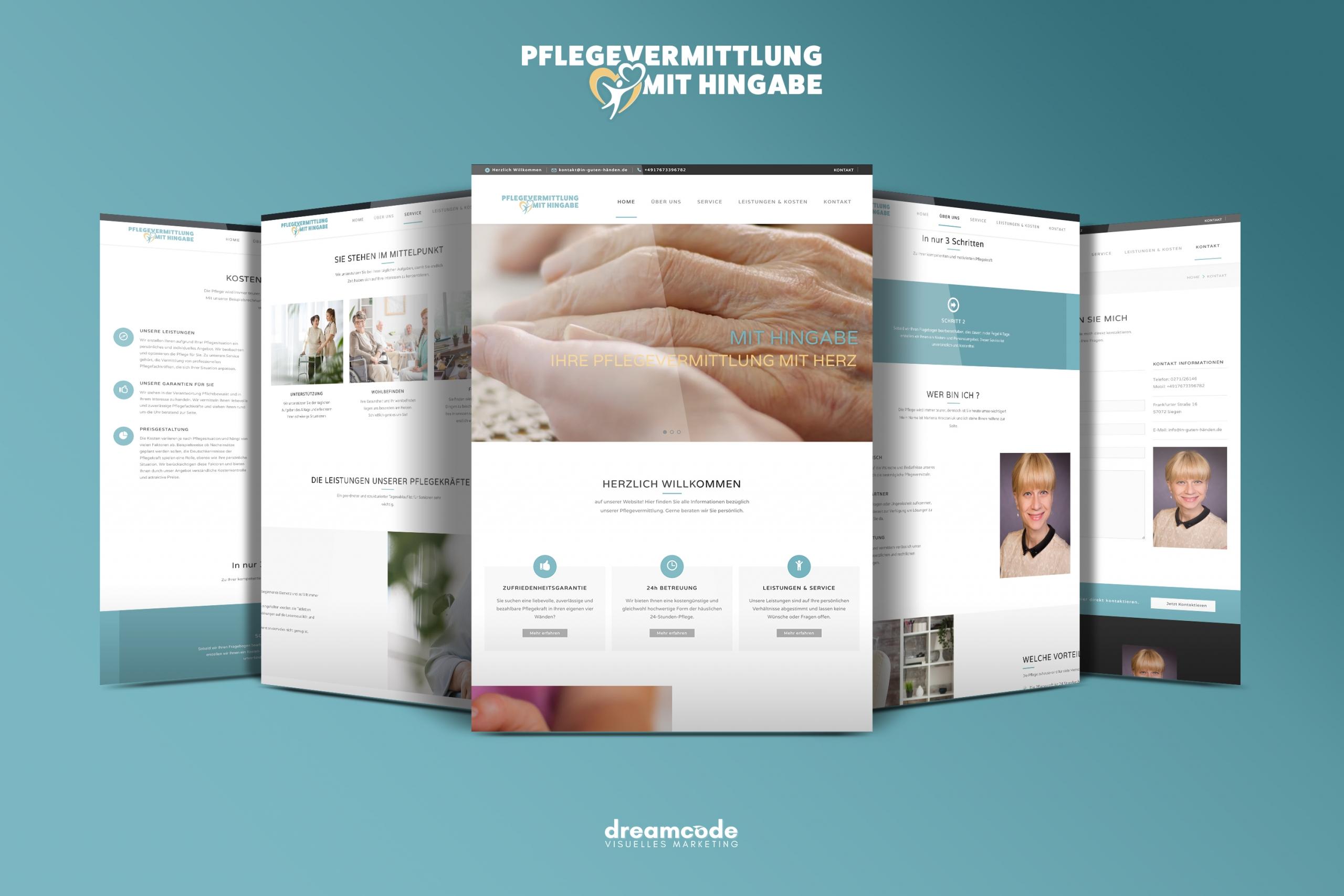 homepagegestaltung, Webdesigner in siegen